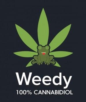 Weedy.fr 100% cannabidiol