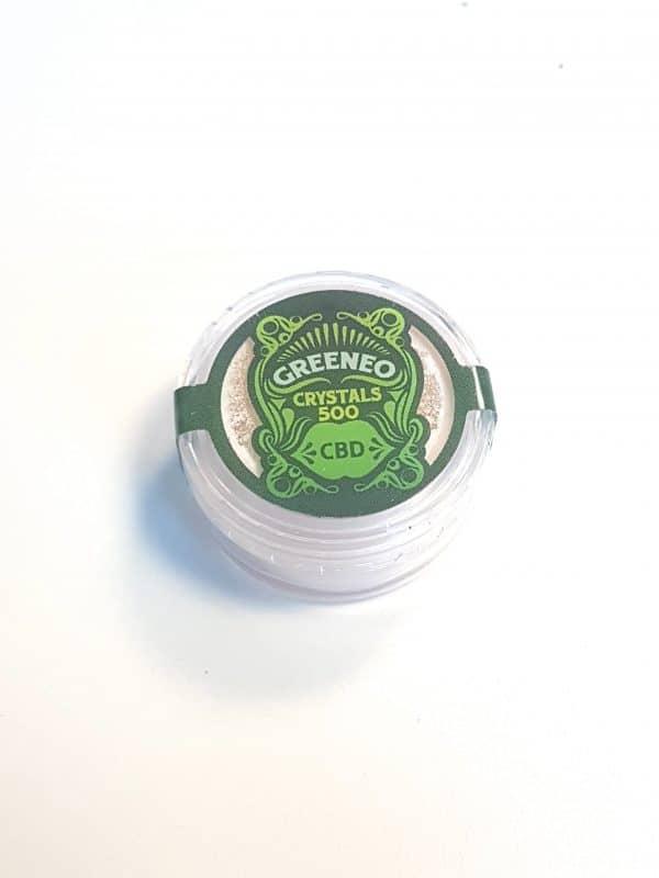 Cristaux CBD Greeneo 500 mg