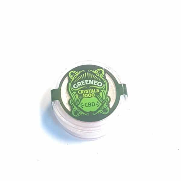 Cristaux CBD Greeneo 1000 mg