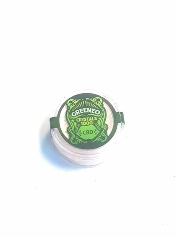 Кристали Greeneo CBD - 1000 мг