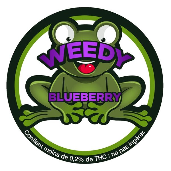 BLUEBERRY fiori di CBD