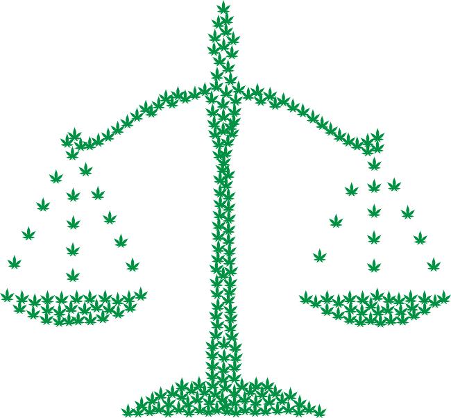 tasso legale di CBD e thc