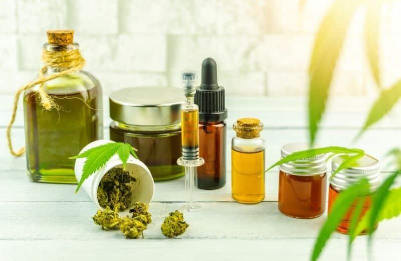 L'huile CBD est extraite de la plante de cannabis