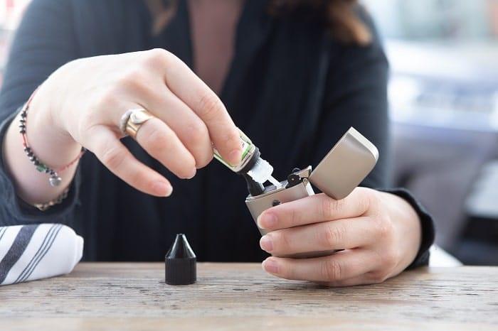 Une e-cigarette bien entretenue permet une vape plus propre