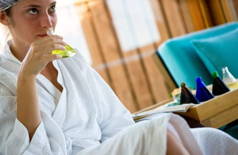 huile de massage chanvre cbd